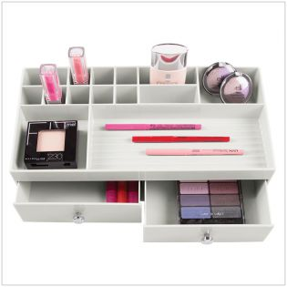 37416ES  2-Drawers Cosmetic Organizer