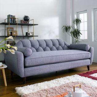 DU9066-20-Stone  3-Seater Sofa