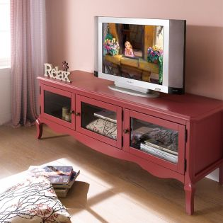 E2185-07R  TV Stand (Red)