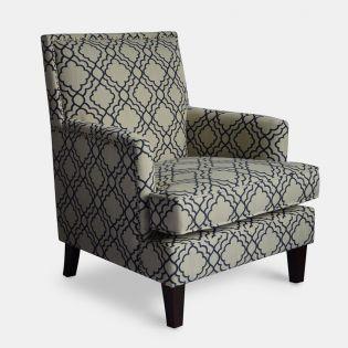 Aubrey-Midnight  Accent Chair