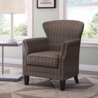 Layla-Mocha  Accent Chair