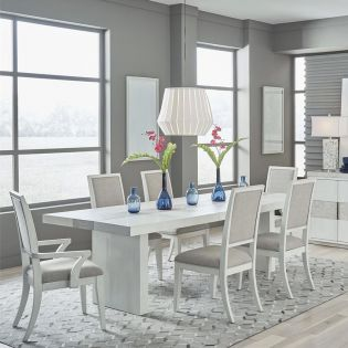 946-6  Dining Set (1 Table + 2 Arm + 4 Side)