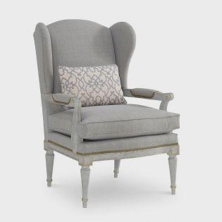 712599-5001AA  Parisian Wing Chair