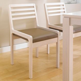 D5400-Cream  Dining Chair
