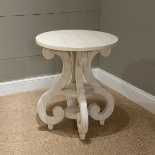 T4436-35  Round Accent Table