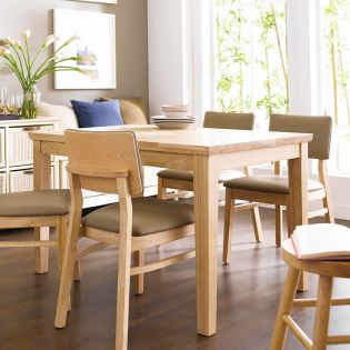 Kathy-4-Natural  Dining Table