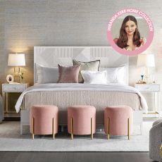 Miranda Kerr 956250  Panel Bed  (침대+화장대+협탁)