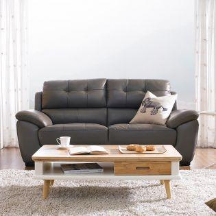 S-1855  Leather Sofa~면피가죽~