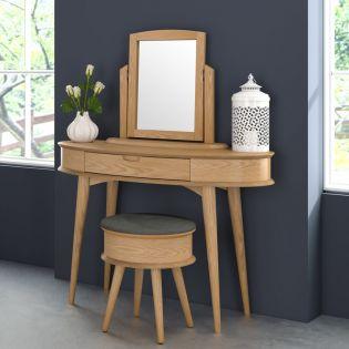 Orbit-Oak  Wood Vanity