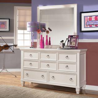 B572  Dresser+Mirror