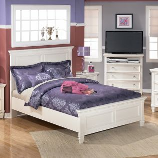 B572  Twin Panel Bed