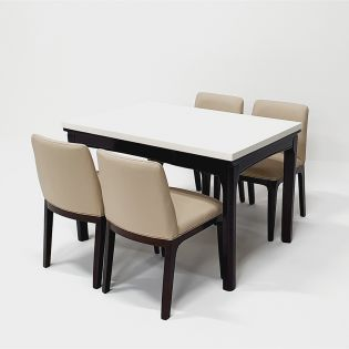 T7100  Dining Set (1 Table + 4 Chairs)